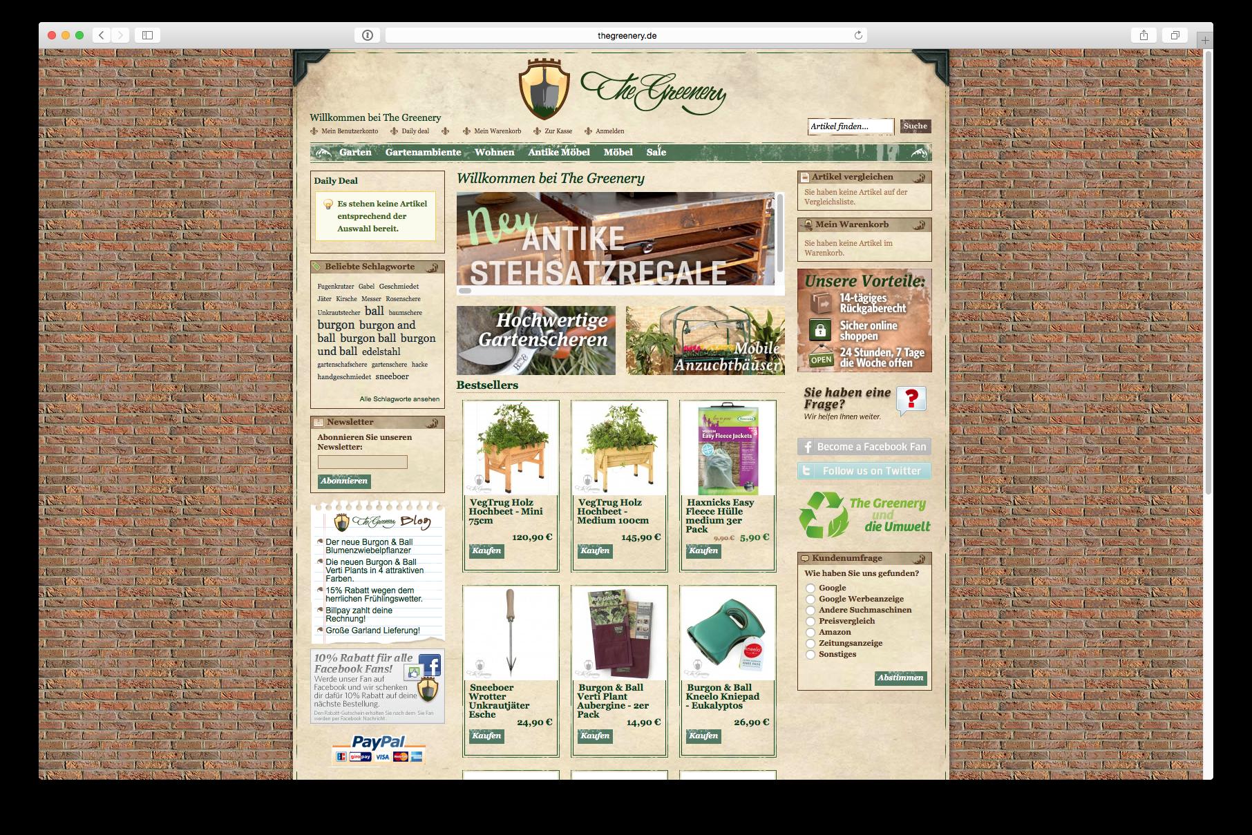 Online Store Fur Hochwertige Gartengerate Und Gartenzubehor